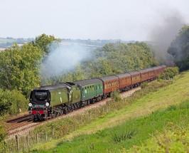 ex-SR 'BB' Class 4-6-2 34067 'Tangmere' – SW39